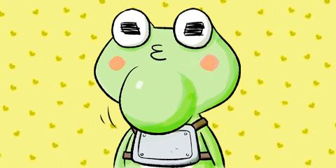 [1話]門番カエルはしゃがみたい
